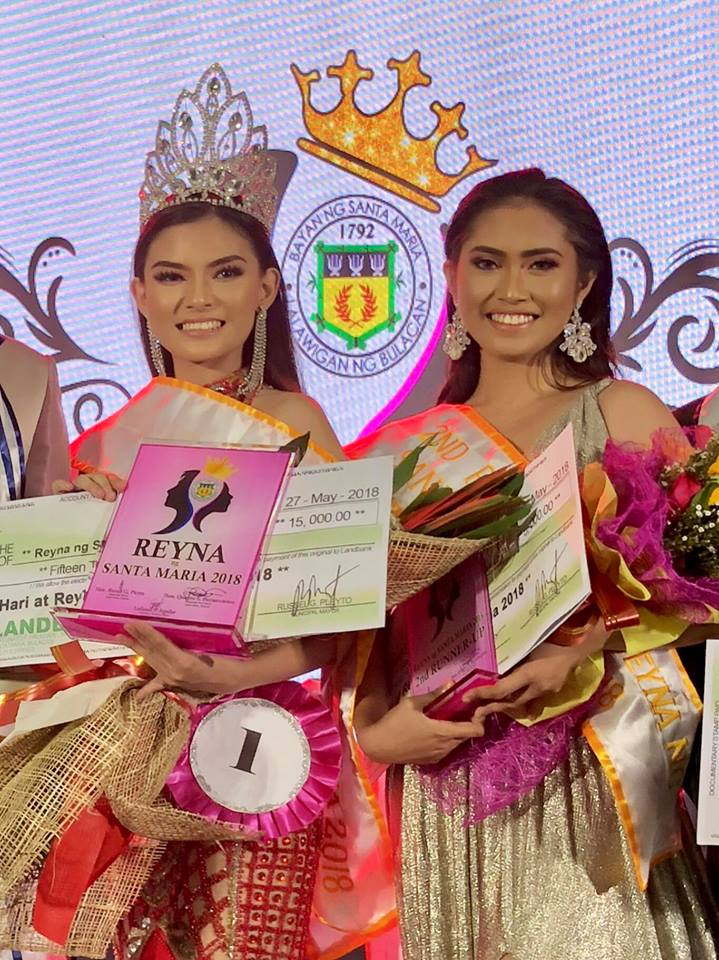 ICA junior high student is the newly crowned Reyna ng Santa Maria