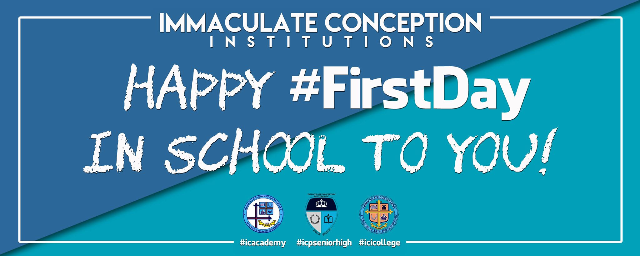 Happy #FirstDay in school to you