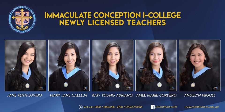 Congratulations, Newly Licensed Professional Teachers from ICI-LCUP!